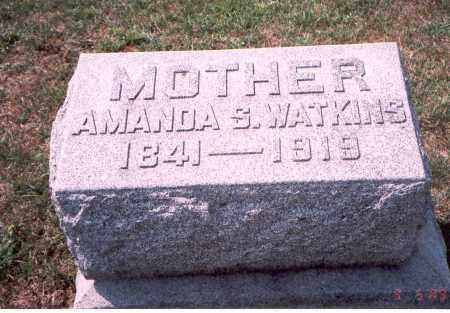 CORBIN WATKINS, AMANDA S. - Franklin County, Ohio | AMANDA S. CORBIN WATKINS - Ohio Gravestone Photos