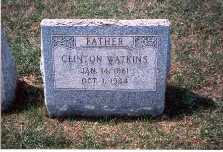 WATKINS, CLINTON - Franklin County, Ohio | CLINTON WATKINS - Ohio Gravestone Photos
