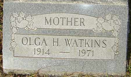 WATKINS, OLGA - Franklin County, Ohio | OLGA WATKINS - Ohio Gravestone Photos