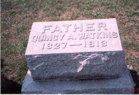 WATKINS, QUINCY A. - Franklin County, Ohio | QUINCY A. WATKINS - Ohio Gravestone Photos