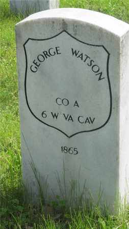WATSON, GEORGE - Franklin County, Ohio | GEORGE WATSON - Ohio Gravestone Photos