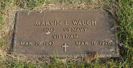 WAUGH, MARVIN L. - Franklin County, Ohio | MARVIN L. WAUGH - Ohio Gravestone Photos
