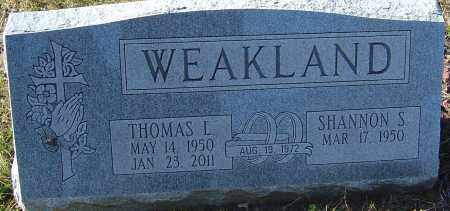 WEAKLAND, THOMAS L - Franklin County, Ohio | THOMAS L WEAKLAND - Ohio Gravestone Photos