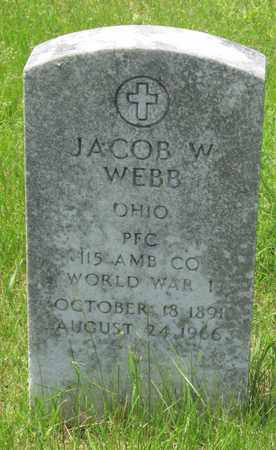 WEBB, JACOB W. - Franklin County, Ohio | JACOB W. WEBB - Ohio Gravestone Photos