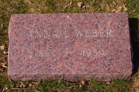 WEBER, ANNA L. - Franklin County, Ohio | ANNA L. WEBER - Ohio Gravestone Photos