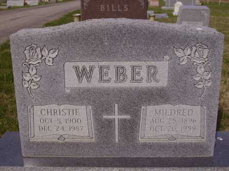 WEBER, MILDRED - Franklin County, Ohio | MILDRED WEBER - Ohio Gravestone Photos