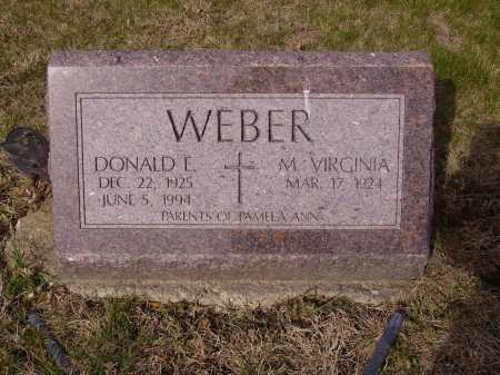WEBER, DONALD L. - Franklin County, Ohio | DONALD L. WEBER - Ohio Gravestone Photos