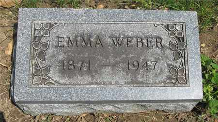 WEBER, EMMA - Franklin County, Ohio | EMMA WEBER - Ohio Gravestone Photos
