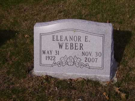 WEBER, ELEANOR E. - Franklin County, Ohio | ELEANOR E. WEBER - Ohio Gravestone Photos