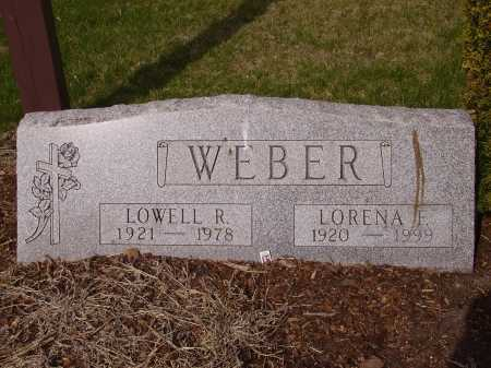 WEBER, LORENA F. - Franklin County, Ohio | LORENA F. WEBER - Ohio Gravestone Photos