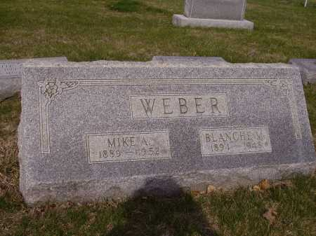 WEBER, MIKE A. - Franklin County, Ohio | MIKE A. WEBER - Ohio Gravestone Photos