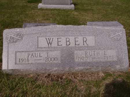 WEBER, RUTH E. - Franklin County, Ohio | RUTH E. WEBER - Ohio Gravestone Photos