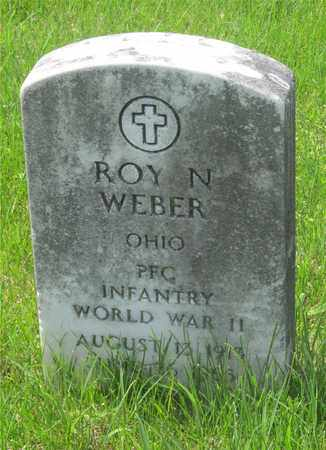 WEBER, ROY N. - Franklin County, Ohio | ROY N. WEBER - Ohio Gravestone Photos