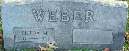 WEBER, VERDA - Franklin County, Ohio   VERDA WEBER - Ohio Gravestone Photos