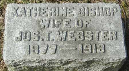 WEBSTER, KATHERINE - Franklin County, Ohio | KATHERINE WEBSTER - Ohio Gravestone Photos