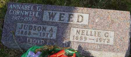 WEED, JUDSON - Franklin County, Ohio | JUDSON WEED - Ohio Gravestone Photos