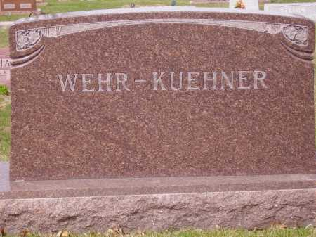 WEHR - KUEHNER, FAMILY MONUMENT - Franklin County, Ohio | FAMILY MONUMENT WEHR - KUEHNER - Ohio Gravestone Photos