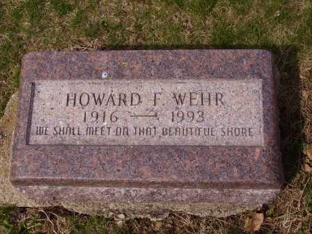 WEHR, HOWARD F. - Franklin County, Ohio | HOWARD F. WEHR - Ohio Gravestone Photos