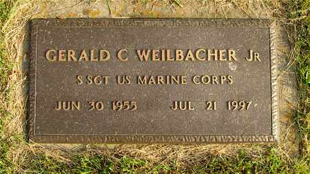 WEILBACHER, GERALD C. - Franklin County, Ohio | GERALD C. WEILBACHER - Ohio Gravestone Photos
