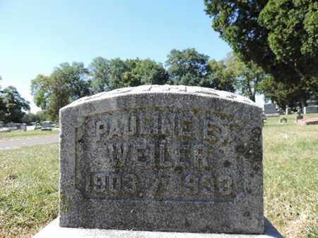 WEILER, PAULINE E. - Franklin County, Ohio | PAULINE E. WEILER - Ohio Gravestone Photos