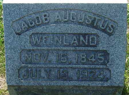 WEINLAND, JACOB AUGUSTUS - Franklin County, Ohio | JACOB AUGUSTUS WEINLAND - Ohio Gravestone Photos