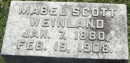 WEINLAND, MABEL - Franklin County, Ohio | MABEL WEINLAND - Ohio Gravestone Photos