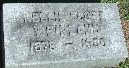 WEINLAND, NELLIE - Franklin County, Ohio | NELLIE WEINLAND - Ohio Gravestone Photos