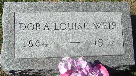 WEIR, DORA LOUISE - Franklin County, Ohio | DORA LOUISE WEIR - Ohio Gravestone Photos
