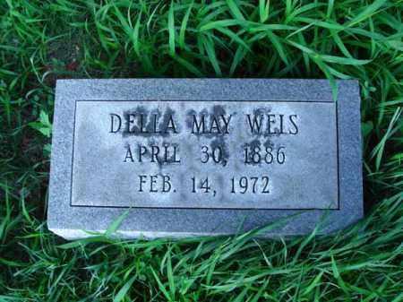 WEIS, DELLA MAY - Franklin County, Ohio | DELLA MAY WEIS - Ohio Gravestone Photos