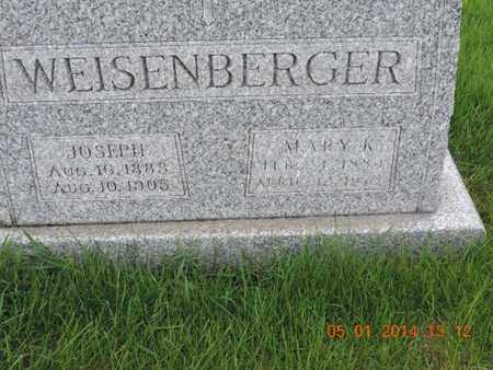 WEISENBERGER, JOSEPH - Franklin County, Ohio | JOSEPH WEISENBERGER - Ohio Gravestone Photos