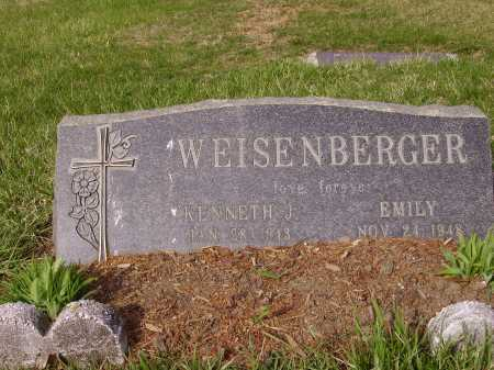 WEISENBERGER, EMILY - Franklin County, Ohio | EMILY WEISENBERGER - Ohio Gravestone Photos