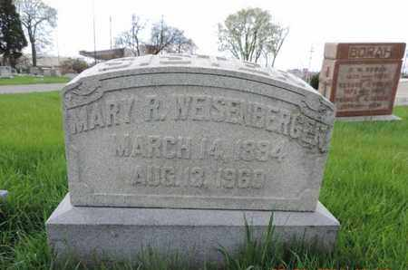 WEISENBERGER, MARY R - Franklin County, Ohio | MARY R WEISENBERGER - Ohio Gravestone Photos