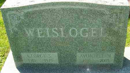 WEISLOGEL, GEORGE S - Franklin County, Ohio | GEORGE S WEISLOGEL - Ohio Gravestone Photos