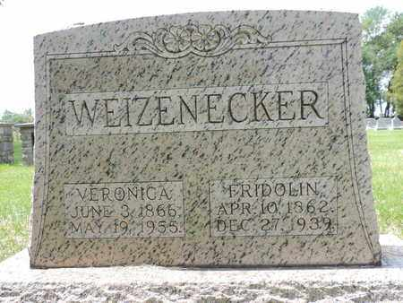WEIZENECKER, VERONICA - Franklin County, Ohio | VERONICA WEIZENECKER - Ohio Gravestone Photos