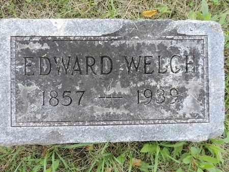 WELCH, EDWARD - Franklin County, Ohio | EDWARD WELCH - Ohio Gravestone Photos