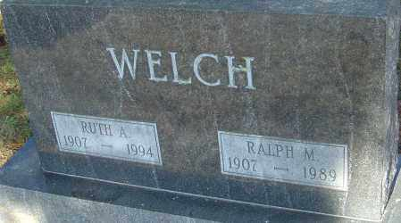 WELCH, RALPH - Franklin County, Ohio | RALPH WELCH - Ohio Gravestone Photos