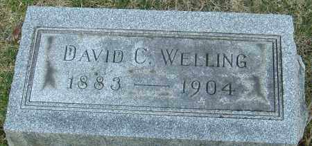 WELLING, DAVID C - Franklin County, Ohio | DAVID C WELLING - Ohio Gravestone Photos
