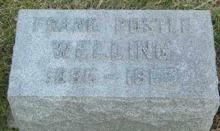 WELLING, FRANK POSTLE - Franklin County, Ohio | FRANK POSTLE WELLING - Ohio Gravestone Photos