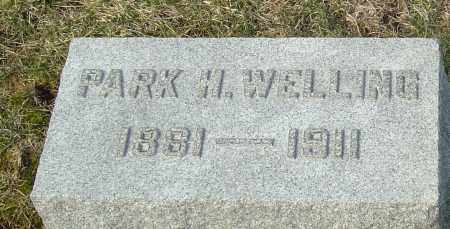 WELLING, PARK H - Franklin County, Ohio | PARK H WELLING - Ohio Gravestone Photos