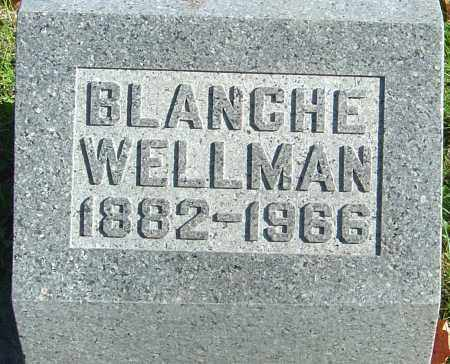 WELLMAN, BLANCHE - Franklin County, Ohio | BLANCHE WELLMAN - Ohio Gravestone Photos