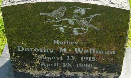 WELLMAN, DOROTHY M - Franklin County, Ohio | DOROTHY M WELLMAN - Ohio Gravestone Photos