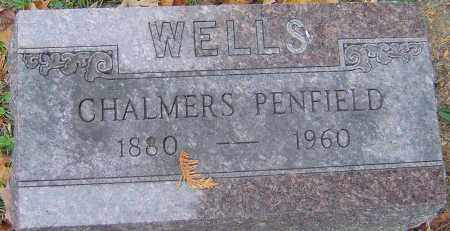 WELLS, CHALMERS PENFIELD - Franklin County, Ohio | CHALMERS PENFIELD WELLS - Ohio Gravestone Photos