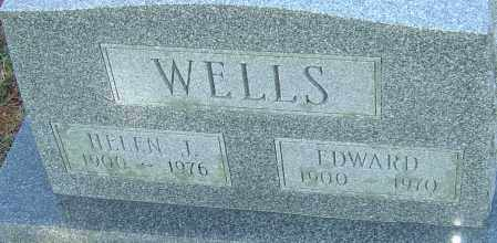 WELLS, EDWARD - Franklin County, Ohio | EDWARD WELLS - Ohio Gravestone Photos
