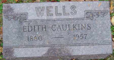 WELLS, EDITH - Franklin County, Ohio | EDITH WELLS - Ohio Gravestone Photos