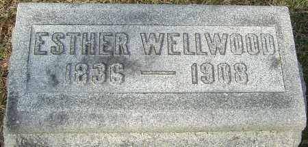 WELLWOOD, ESTHER - Franklin County, Ohio | ESTHER WELLWOOD - Ohio Gravestone Photos