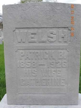 WELSH, PATRICK B - Franklin County, Ohio | PATRICK B WELSH - Ohio Gravestone Photos