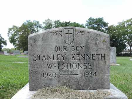 WELSHONSE, STANLEY KENNETH - Franklin County, Ohio | STANLEY KENNETH WELSHONSE - Ohio Gravestone Photos
