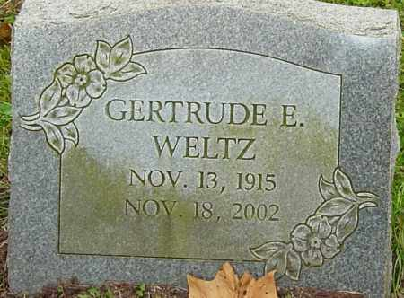 WELTZ, GERTRUDE - Franklin County, Ohio | GERTRUDE WELTZ - Ohio Gravestone Photos