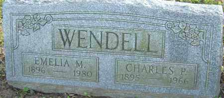 WENDELL, CHARLES P - Franklin County, Ohio | CHARLES P WENDELL - Ohio Gravestone Photos