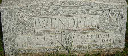 "WENDELL, CHARLES ""CHIC"" - Franklin County, Ohio 